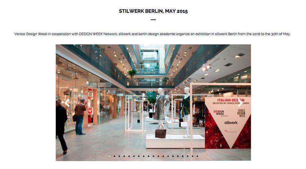 esposizione a Berlino maggio 2015